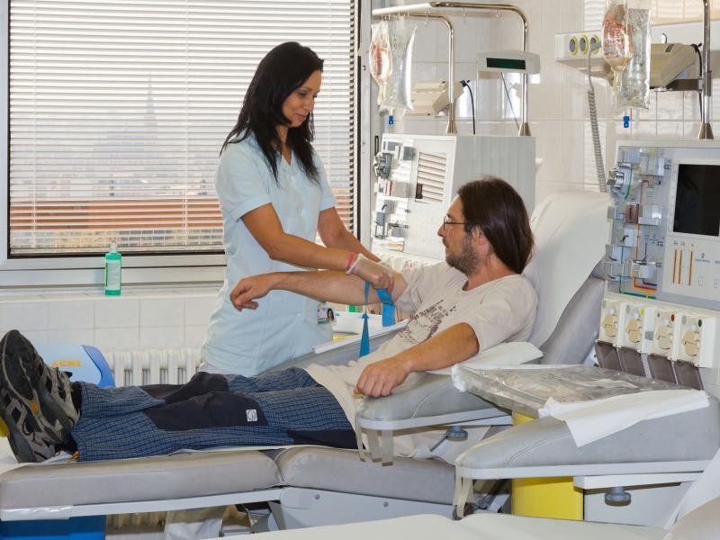 Hledáme nové dárce krevních destiček