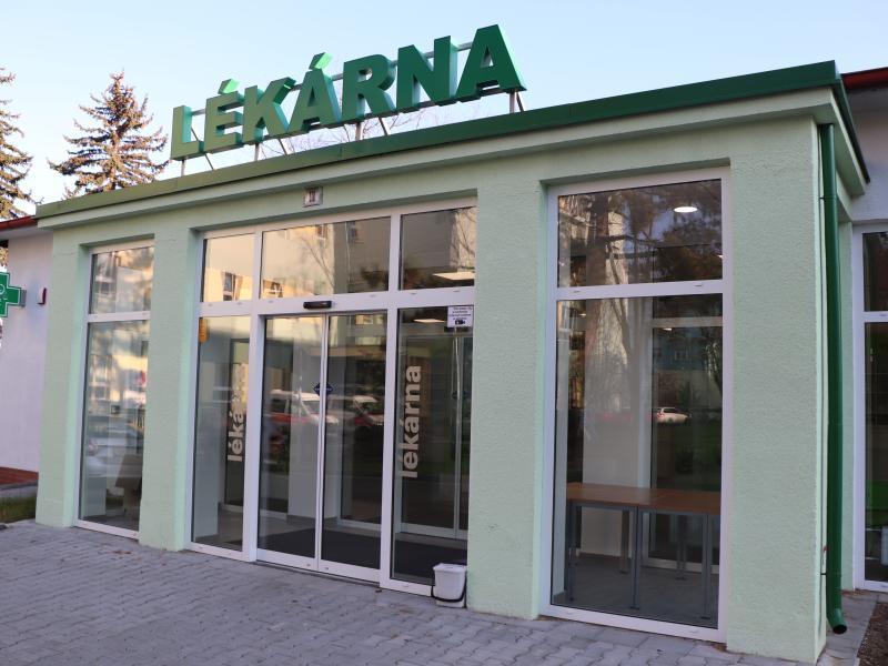 Nová lékárna ve FN Plzeň - Bory