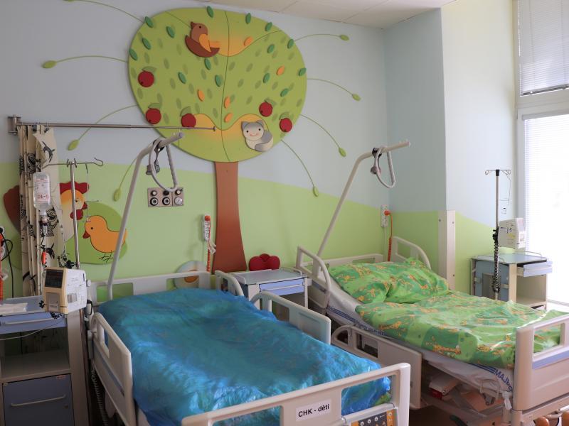 Na dětské chirurgii více komfortu pro rodiče