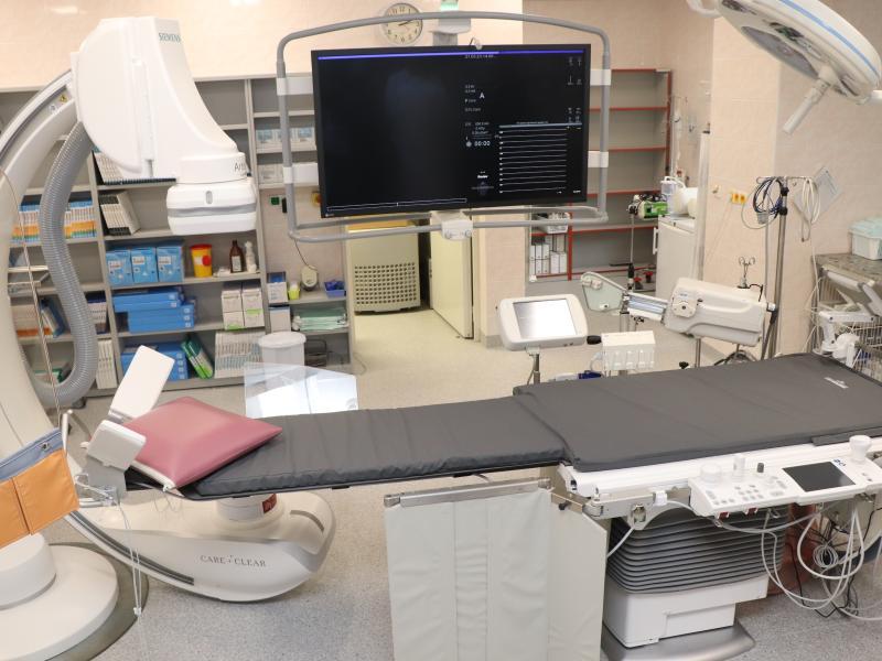 Nová moderní angiolinka pro intervenční kardiologii