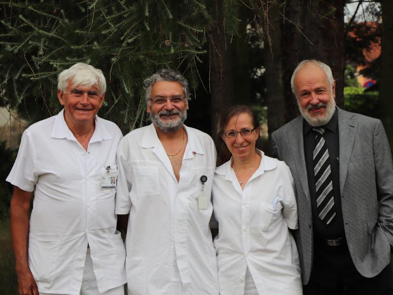 Lékaři Kliniky pneumologie a ftizeologie obdrželi významná ocenění